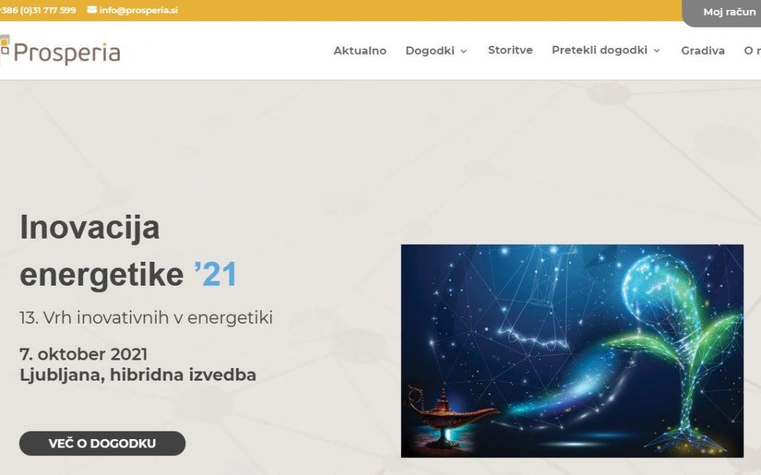 Spletna stran Prosperia prenova